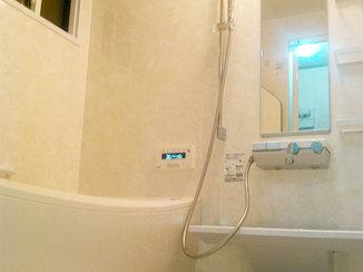 バスルームリフォーム 最新スタイルかつ断熱施工で温かさを感じられるバスルーム