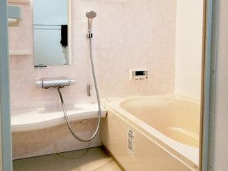 バスルームリフォーム 風通しがよく、カビの心配も減った浴室