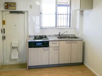 キッチンリフォーム 明るくきれい!水廻りを一新した賃貸アパートのお部屋