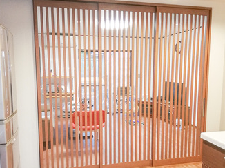 内装リフォーム 部屋の寒さを解消するLDKの間仕切りと床暖房
