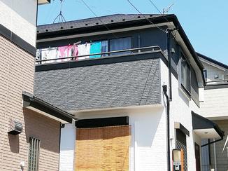 外壁・屋根リフォーム メリハリのあるツートンカラーで綺麗になった外壁と屋根