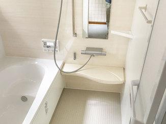 バスルームリフォーム 清掃性が高いユニットバス